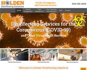 Holden Disinfecting Solutions