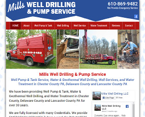 Mills Well Drilling