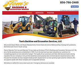 Tom's Backhoe and Excavation Services, LLC