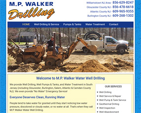 M.P. Walker Water Well Drilling