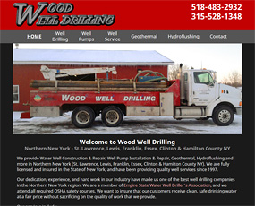Wood Well Drilling